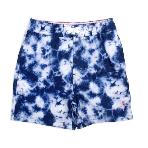 Swim Shorts, Navy Tie Dye