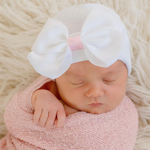 Newborn Bow Hat, Sophia Bow