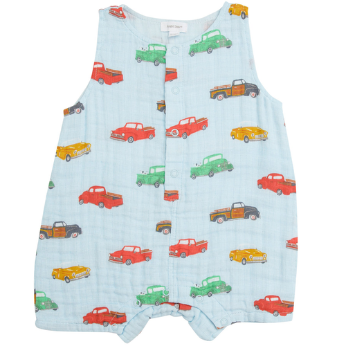 Sleeveless Shortie, Vintage Trucks