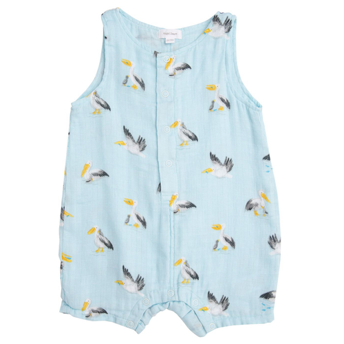 Sleeveless Shortie, Pelicans