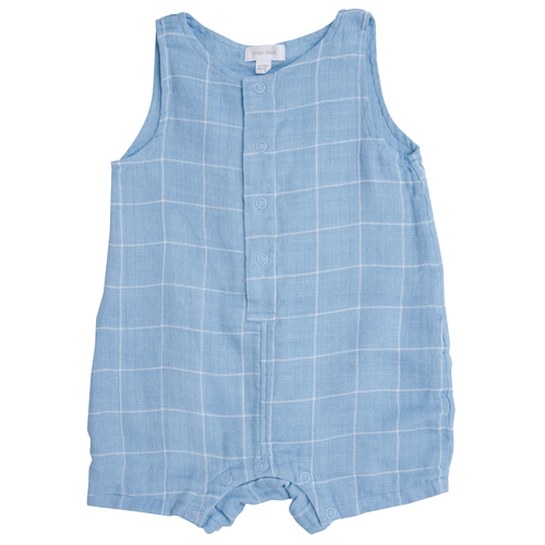 Sleeveless Shortie, Off the Grid Blue