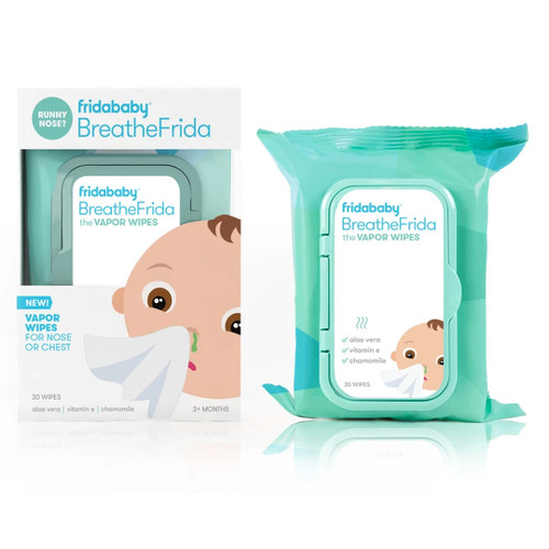 BreatheFrida The Boogerwiper Nose/Chest Wipes
