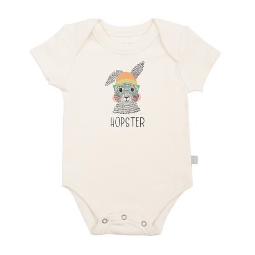 Organic Graphic Bodysuit, Hopster