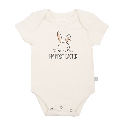 Organic Graphic Bodysuit, My First Easter