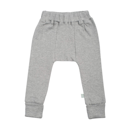 Organic Basic Pant, Heather Grey