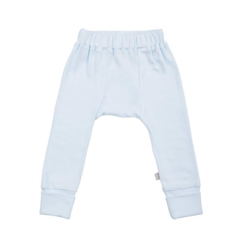 Organic Basic Pant, Light Blue