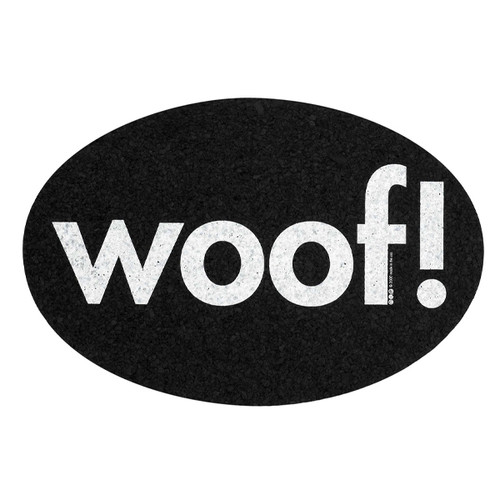 Woof! Recycled Rubber Pet Placemat