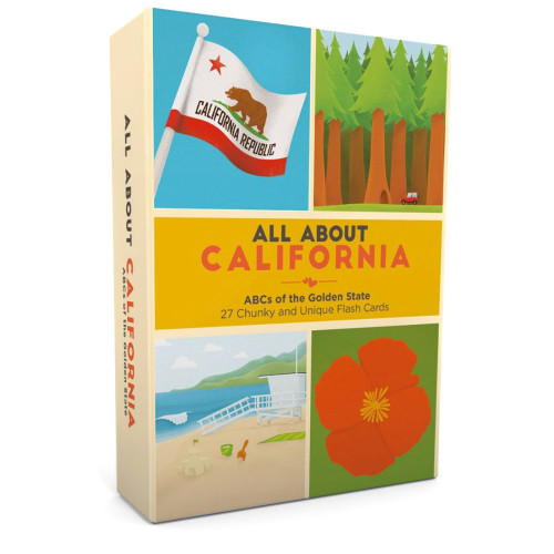 All About California Flash Card Set