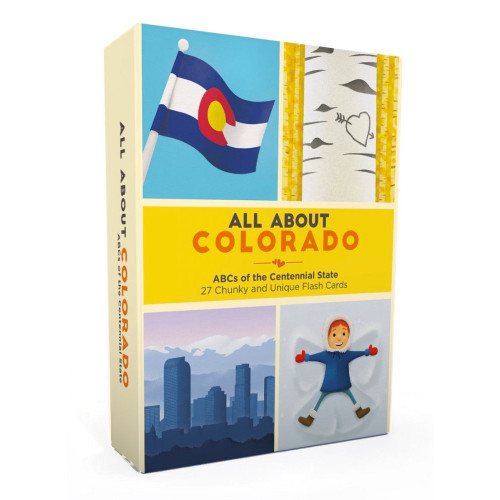 All About Colorado Flash Card Set