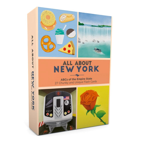 All About New York Flash Card Set