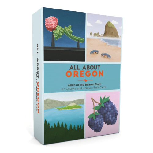All About Oregon Flash Card Set