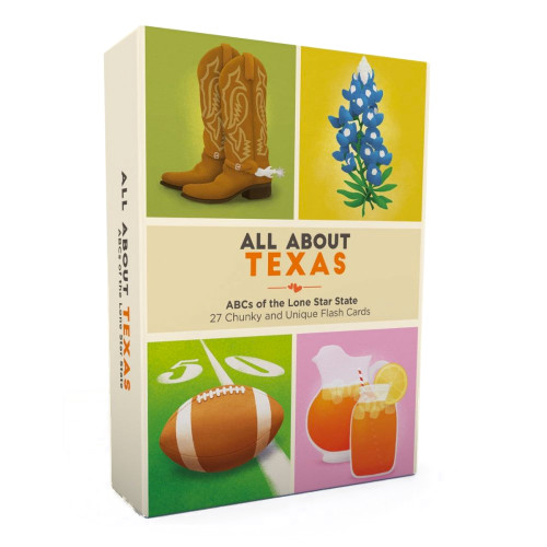 All About Texas Flash Card Set