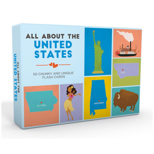 All About the United States Flash Card Set