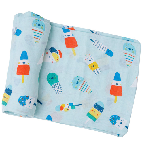 Muslin Swaddle, Popsicles