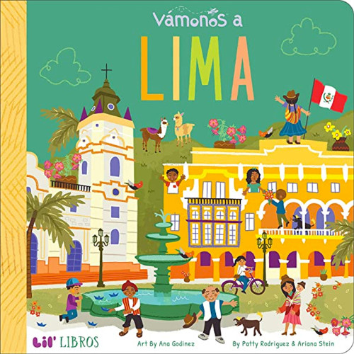 Vámonos: Lima Board Book