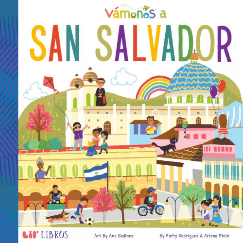 Vámonos: San Salvador Board Book