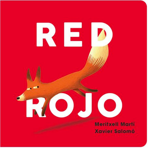 Red/Rojo Board Book