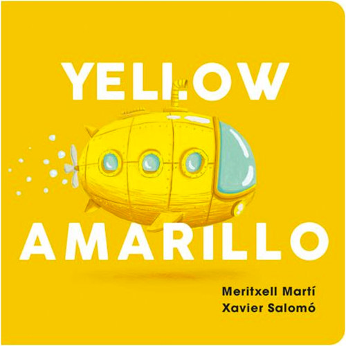 Yellow/Amarillo Board Book