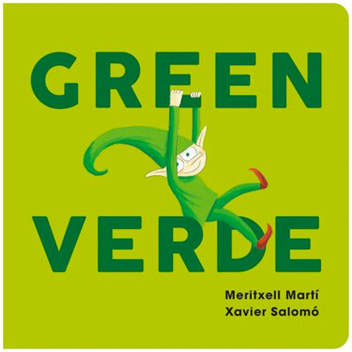 Green/Verde Board Book