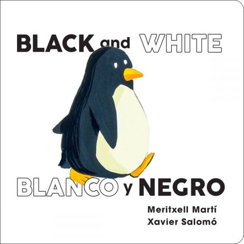 Black and White/Blanco y Negro Board Book