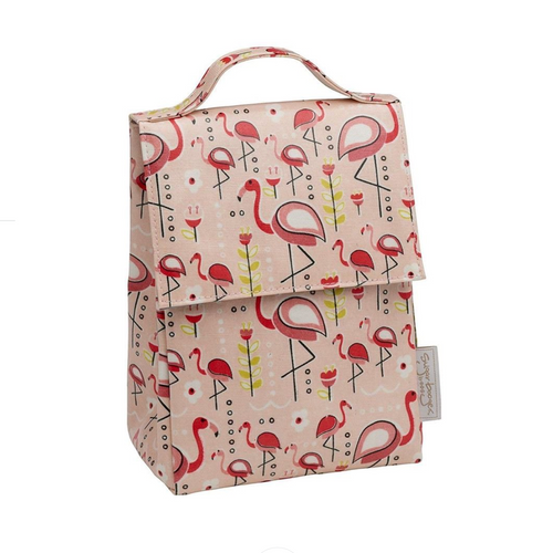 Classic Lunch Sack, Flamingo
