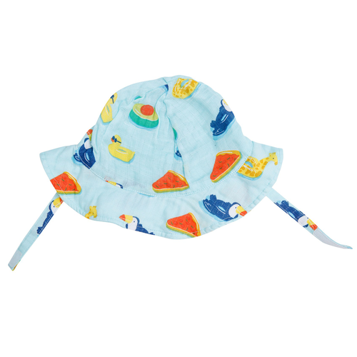 Sunhat, Blue Floaties
