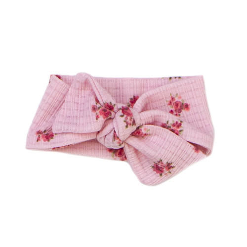 Knotted Headband, Adore Pink Floral