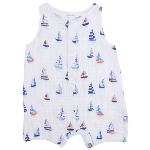 Sleeveless Shortie, Nautical Boats