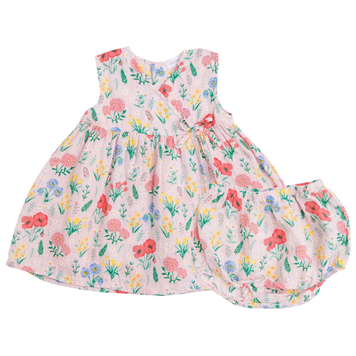 Kimono Dress & Bloomer, Summer Floral