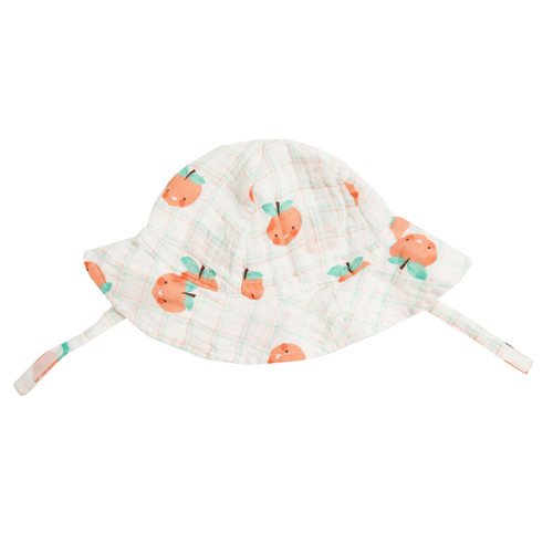 Sunhat, Plaid Peaches