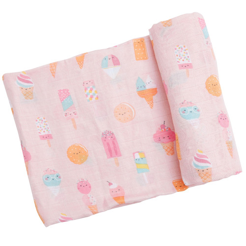 Muslin Swaddle, Ice Cream