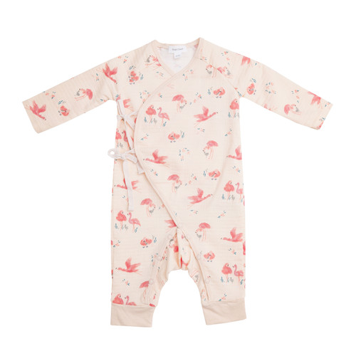 Coverall, Flamingo Pink