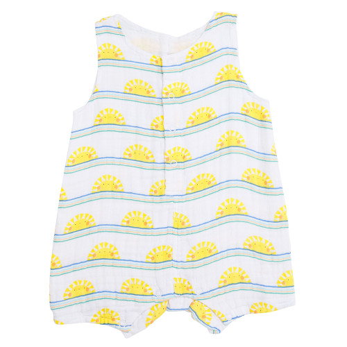 Sleeveless Shortie, Sun Stripe
