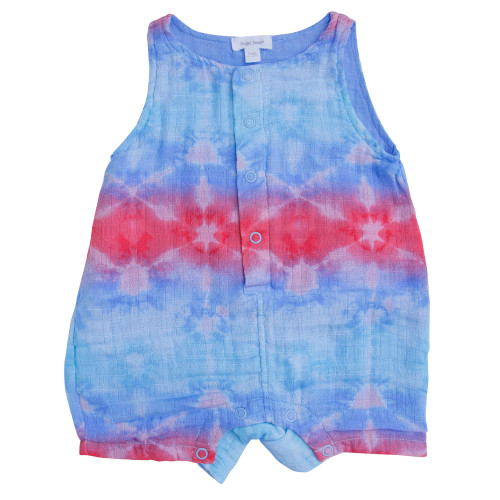 Sleeveless Shortie, Shibori Multi