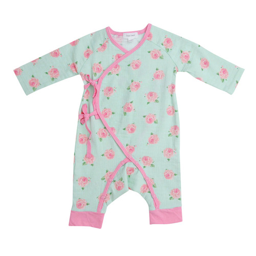 Coverall, Petite Rose Mint