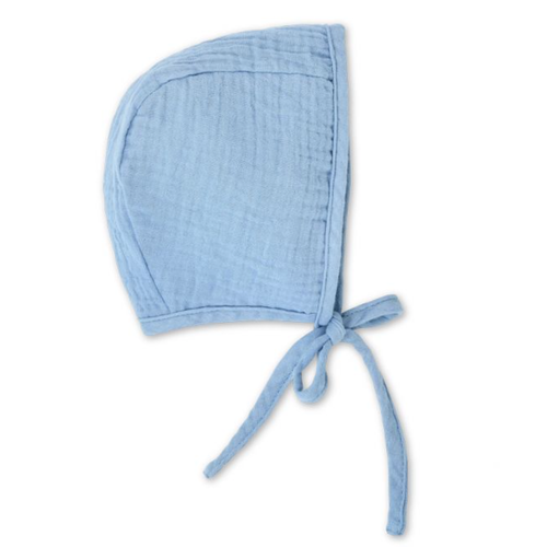 Muslin Bonnet, Blue