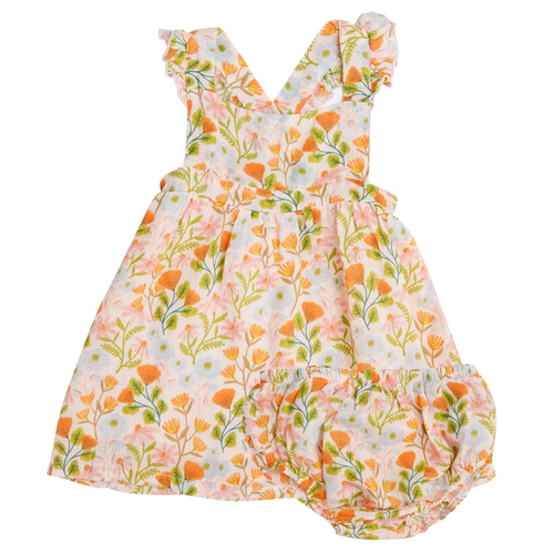 Pinafore & Bloomer Set, Honest Earth