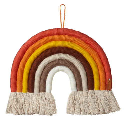 Macrame Wall Decor, Harvest Rainbow