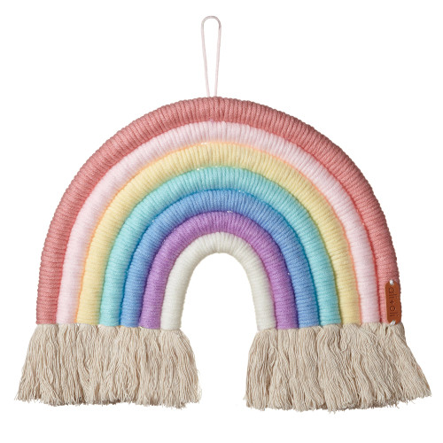 Macrame Wall Decor, Candy Rainbow