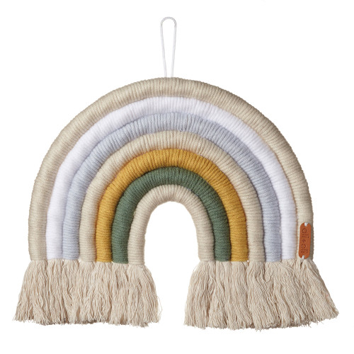 Macrame Wall Decor, Lunar Rainbow