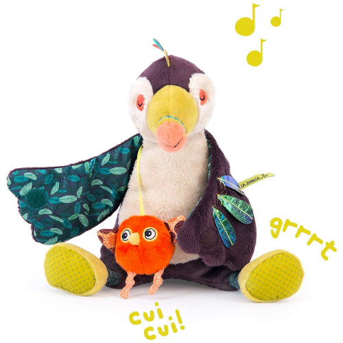 Pakou Activity Toucan Toy