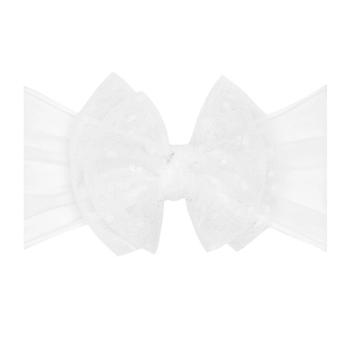 Tulle FAB-BOW-LOUS Bow, White
