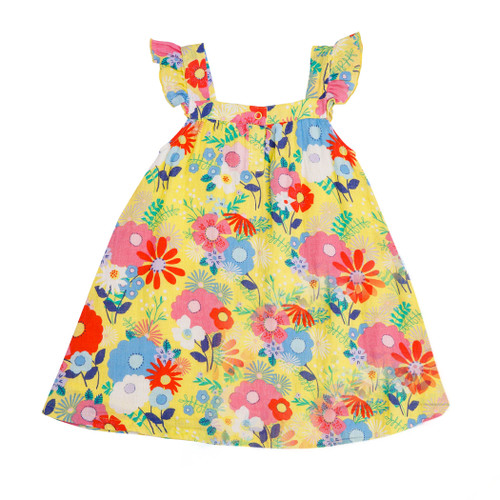 Sundress, Yellow Multi Floral
