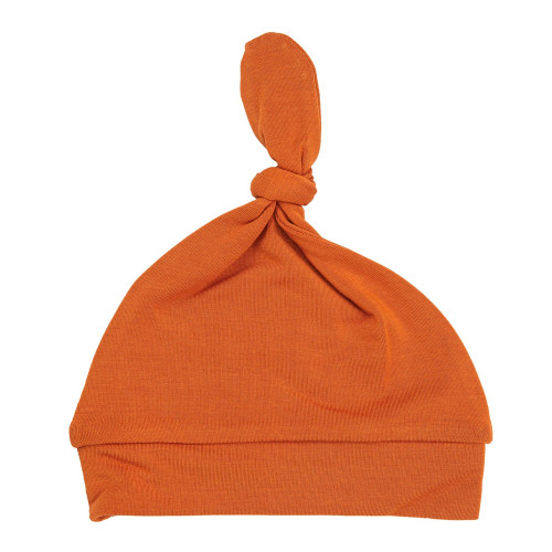 Knotted Beanie, Rusty