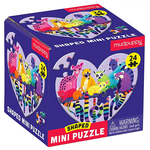 Love in the Wild Shaped Mini Puzzle