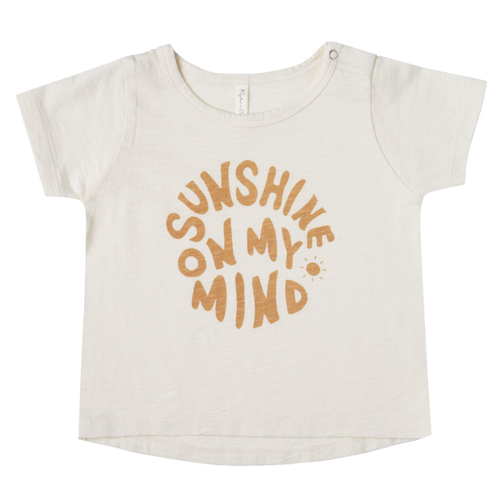 Rylee & Cru Basic Tee, Sunshine On My Mind