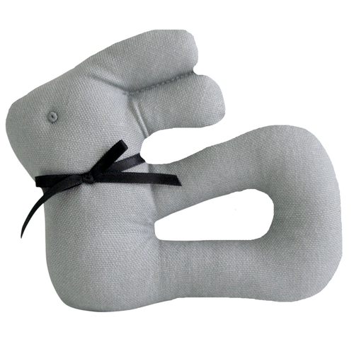 My First Bunny Rattle, Grey