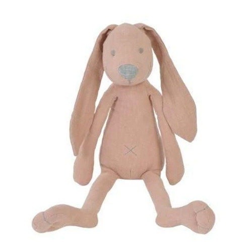 Pink Linen Richie Rabbit Plush