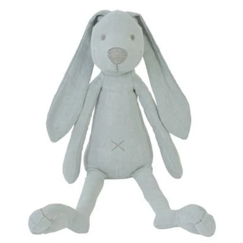 Lagoon Blue Linen Richie Rabbit Plush