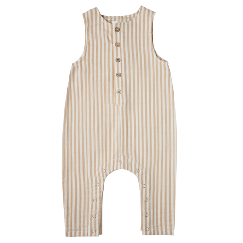 Rylee & Cru Button Jumpsuit, Striped